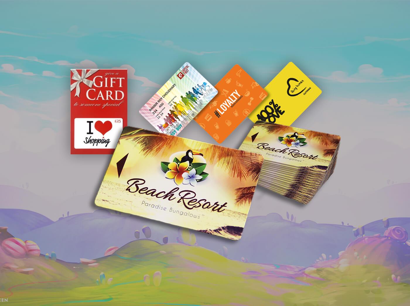 Plastic card online printing