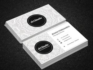 Business Card 18012