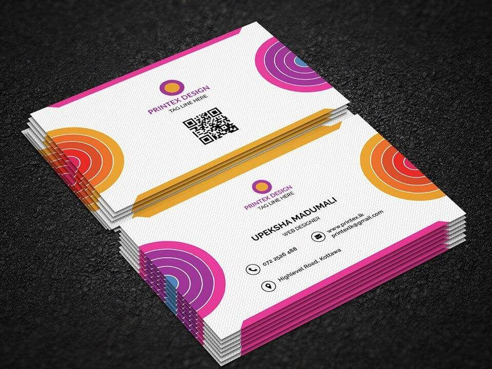 Business card 18014