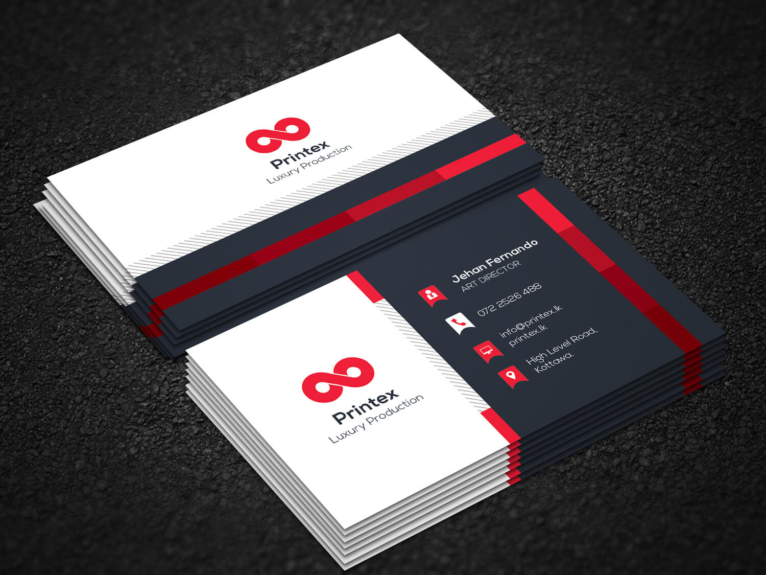 Business cards sri lanka printex printing solutions sri lanka business card reheart Choice Image